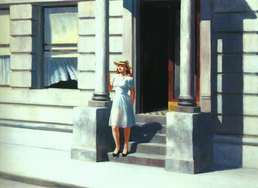 EdwardHopper-Summertime-1943